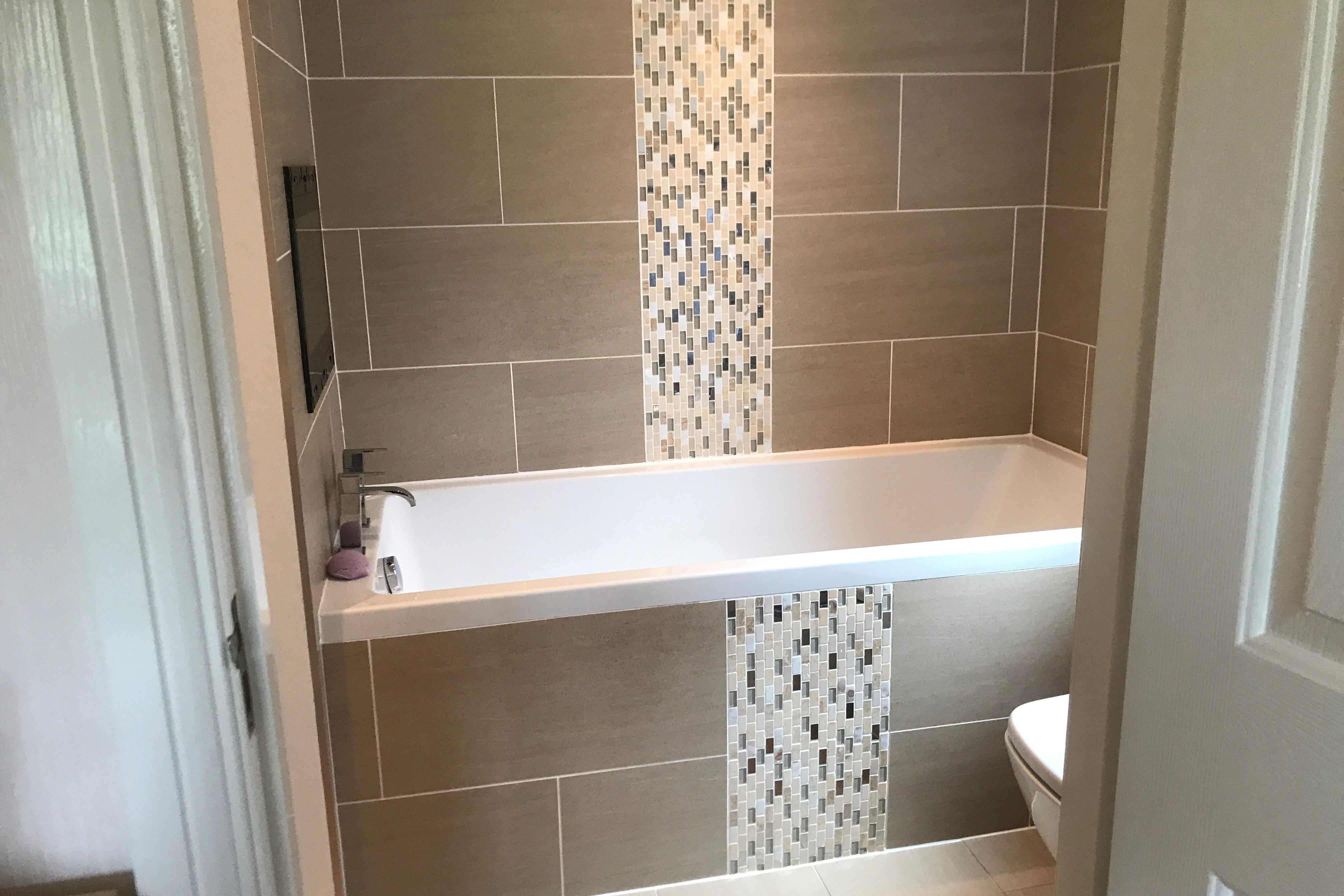 New bathroom fitted in Milnsbridge, Huddersfield by JDF Plumbers