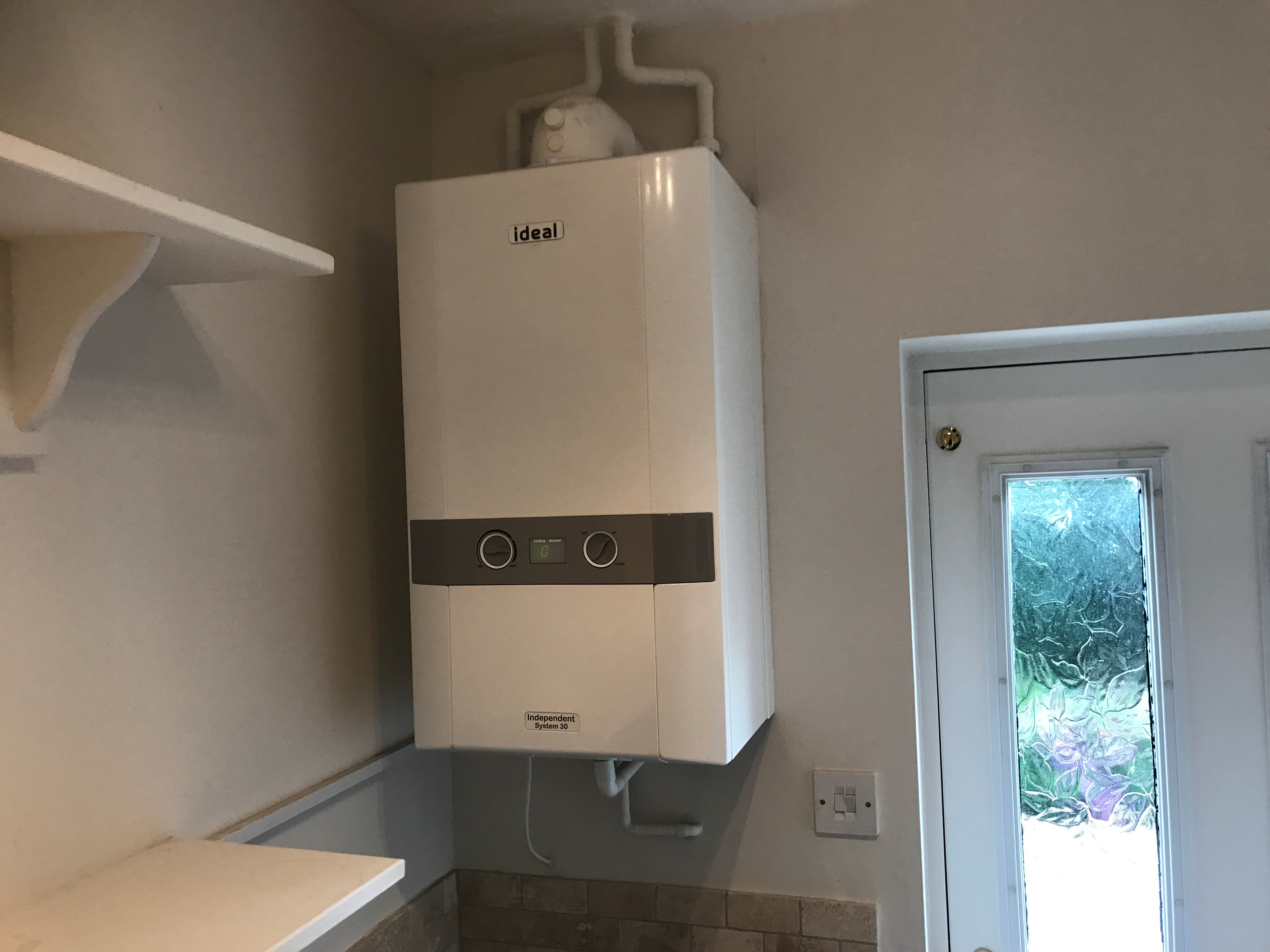 New system boiler fitted Milnsbridge in Huddersfield